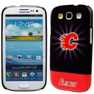 ケース スマホ 携帯 カバー アンブランディッド Calgary Flames Starburst ...