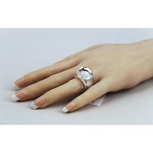 バカラ バカラ BACCARAT JEWELRY TANGO MIRROR CLEAR CRYSTAL RING SZ 53 NEW MADE IN FRANCE|pandastore