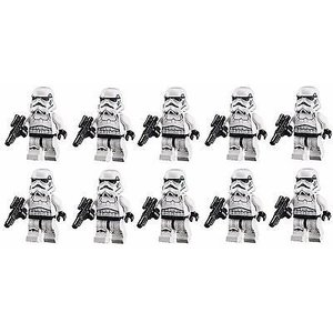 LEGOセット レゴ LEGO STAR WARS LOT OF 10 MINIFIGURES STORMTROOPER MINIFIG 75159 75055 75060|pandastore