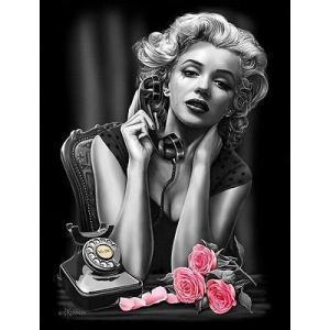 プリント  海外セレクション Heartbreaker By David Gonzales Canvas Giclee Cry Drink Tattooed Marilyn Monroe|pandastore