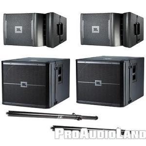楽器 ホームスピーカー サブウーファー ジェイビーエル JBL VRX 900 Series Passive Line Array DJ PA System VRX932LA-1 VRX918S SS4BK|pandastore