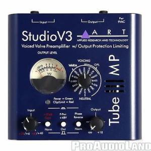 楽器 アンプ プリアンプ Art Audio ART Tube MP STV3 Single-channel Tube Microphone Preamp NEW|pandastore