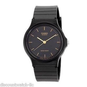 カシオ 腕時計  Casio MQ24-1E メンズ レジン バンド カジュアル ブラック ダイヤル...