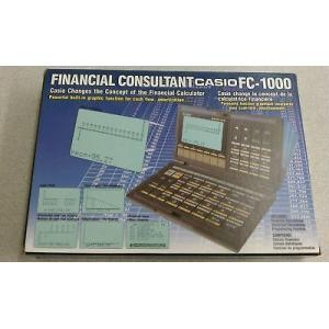 カシオ ビンテージ 計算機  Casio ビンテージ FC-1000 Personal Financial Consultant Prograミリable Calculator pandastore