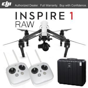 カメラ&写真カメラドローン ディージェイアイ DJI INSPIRE 1 RAW 4K カメラ Zenmuse X5R フリー ケース & DUAL REMOTES