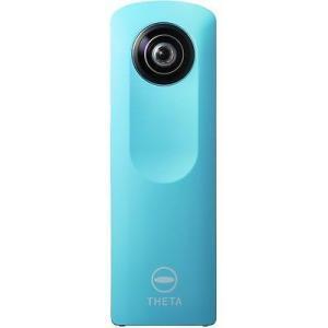 デジタルカメラ  Ricoh Theta M15 カメラ ブルー
