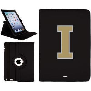 カヴァルー ケース タブレット パソコン カバー カバー キーボードフォリオ Idaho Vandals ブラック iPad Air Swivel|pandastore
