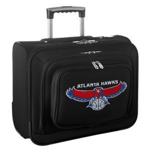 Denco バスケットボール NBA 全米 アメリカ メジャー Atlanta Hawks ブラック Carry On Rolling Laptop バッグ|pandastore