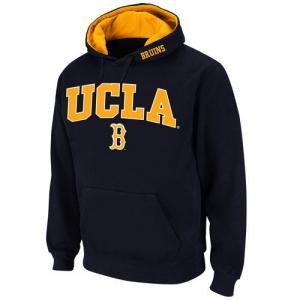 カレッジ NCAAStadium Athletic UCLA Bruins Navy Arch & Logo Pullover Hoodie|pandastore