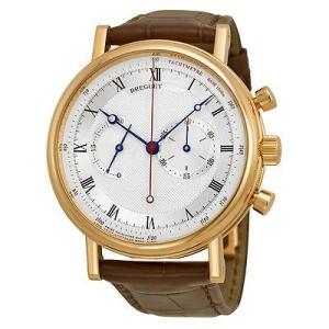 ブレゲ 腕時計 Breguet Classique オートマチック Alligator レザー メンズ 腕時計 5287BR129ZU