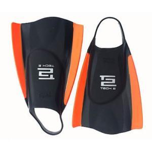 サーフフィンアクセサリー Hydro Tech 2 Swim フィン (ブラック/オレンジ, ML) メンズ ユニセックス サーフィン サーフ ウォータースポーツ N