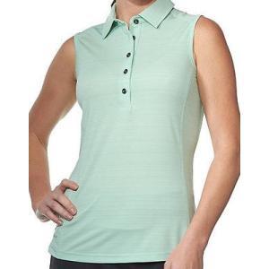 距離計 スコープ チェイス 54 Chase 54 レディース Heritgage ノースリーブ Top ミント X-ラージ - レディース ゴルフ shirt