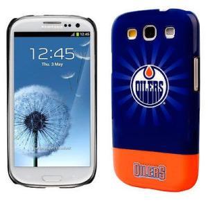 ケース スマホ 携帯 カバー アンブランディッド Edmonton Oilers Starburst...