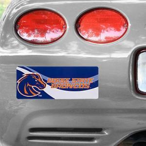 """写真 Boise State Broncos 4"""" x 10"""" Bold フォト バンパー ステッカ..."""