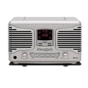 オーディオ テレビ ビデオ ホームオーディオ TEAC SL-D800BT CD Radio with Bluetooth/NFC/USB/ AM/FM, Silver #SL-D800BT-S|pandastore