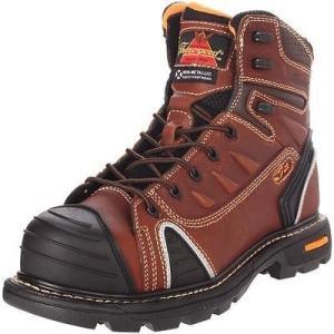 ソログッド ブーツ シューズ 靴 Thorogood 0704 メンズ ブラウン レザー Work ブーツ シューズ 9.5 Wide (E) BHFO|pandastore