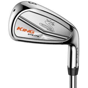 ゴルフクラブ コブラ Cobra King Utility Iron スチール スチール Stiff Rh メンズ ゴルフ Hybrids|pandastore
