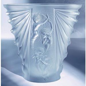 インテリア ラリック Lalique Vase Crystal Nude Nudes Frosted Women Female Ladies Sea Nymphs Na?ades|pandastore