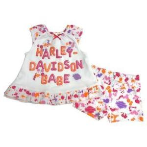 ドレス ハーレーダビッドソン Harley-Davidson Baby Girls' Interlo...
