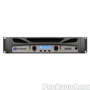楽器 アンプ プリアンプ クラウン CROWN XTi 4002 1200W 2-channel Power Amplifier NEW|pandastore
