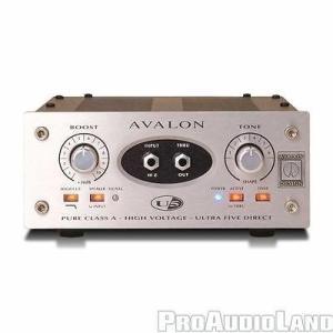 楽器 アンプ プリアンプ Avalon Avalon U5 Single-Channel High-Voltage Instrument DI Preamp NEW|pandastore
