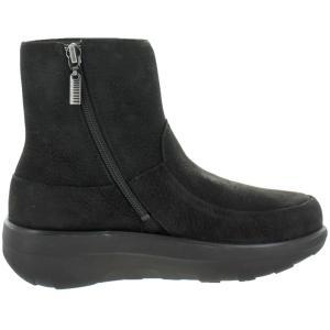 ブーツ フィット フロップ FitFlop Women's Loaff Shorty Zip Boot Ankle Booties|pandastore