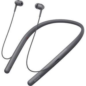 ヘッドフォン ブルドッグ? Sony WI-H700 h.ear in 2 Wireless Neckband In-Ear Headphones with Mic, Black pandastore