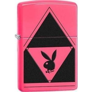 ライター ジッポー Zippo 29063 playboy bunny logo neon pink...