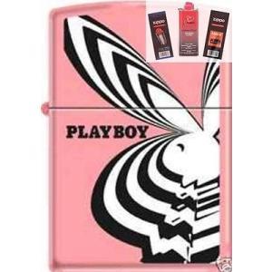 ライター ジッポー Zippo 8183 playboy bunny pink Lighter + ...