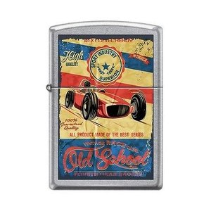 ライター ジッポー Zippo 207 OLD SCHOOL RACING fourth gear racers vintage poster RARE Lighter|pandastore