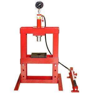 イリイ 10ton油圧プレスショッププレス 圧力計付き10,000kg|pandayano2