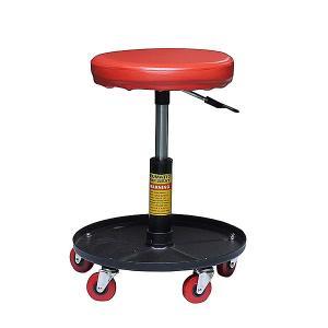 イリイ 工具入れ・キャスター付き作業椅子 ワークチェア|pandayano2