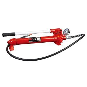 イリイ 油圧ポンプ 圧力ゲージ付き 10ton対応|pandayano2