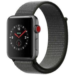 【5%還元キャッシュレス】Apple Watch Series 3(GPS + Cellularモデル)- 42mmスペースグレイアルミニウムケースとダークオリーブスポーツループ MQKR2J/A|pandora-a3|02