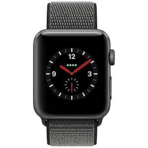 【5%還元キャッシュレス】Apple Watch Series 3(GPS + Cellularモデル)- 42mmスペースグレイアルミニウムケースとダークオリーブスポーツループ MQKR2J/A|pandora-a3|03