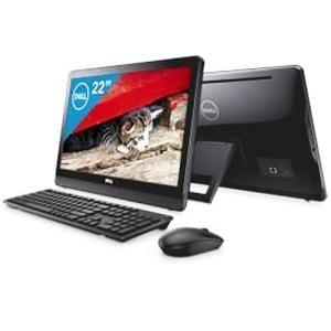 【新品未開封品・ラスト1台】DELL(デル) Inspiron 22 3000(3264 AIO) オールインワン21.5型デスクトップパソコン(Win10/メモリ4GB/HDD1TB)ブラック AI16Y-7NL