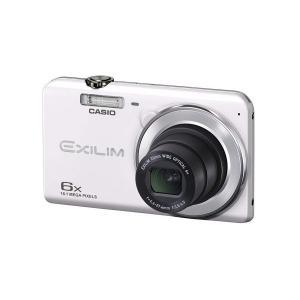 CASIO デジタルカメラ EXILIM EX-ZS28WE 広角26mm 光学6倍ズーム プレミア...