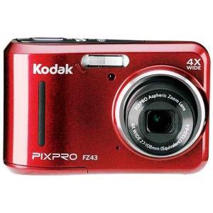 【単3電池駆動】コダック コンパクトデジタルカメラ Kodak PIXPRO FZ43RD (レッド)★|pandora-a3|02