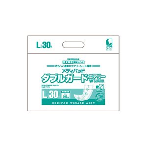 大人用紙おむつ メディパッド Wガードエアリー L30 30枚×8袋 2790 近澤製紙所|pandora
