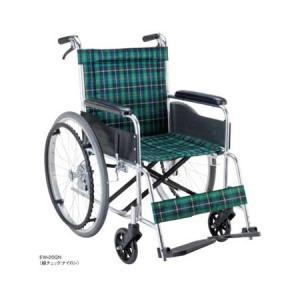 アルミ自走用車椅子 エコノミーシリーズ 背固定・介助ブレーキ付タイプ EW-20 マキテック|pandora