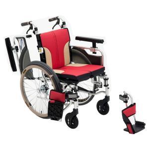 コンパクト車いす アルミ自走車いす SKT-1000 ミキ|pandora|01