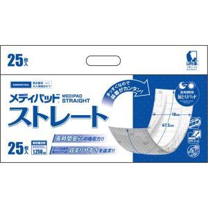 メディパッド ストレートプラス 2598 25枚×4個入り 近澤製紙所|pandora
