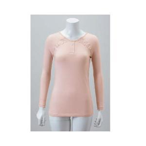 送料無料 快適保温肌着 「じぶんであった快」 女性用 上着 保温インナーJB-LT|pandora