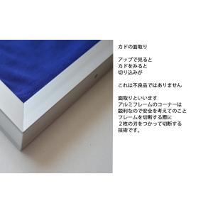 キューブユニフォーム Tシャツ用額縁 シルバー UVカット仕様|panel-c|04