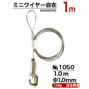 ワイヤー金具M100 長さ1m panel-c