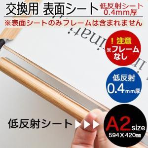 低反射シート A2ポスターフレーム用 5枚セット|panel-c
