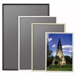 ポスターフレーム シェイプ 半切(サイズ:345×423mm)|panel-depo