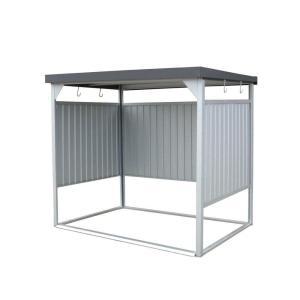 送料無料|万能物置 間口2400タイプ 壁パネル通常タイプ 組立式 DM-10型|b03|panfamcom