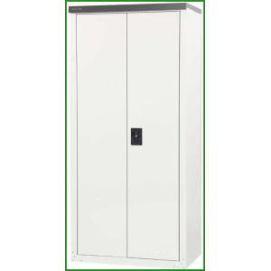 送料無料|グリーンライフ 両扉式家庭用収納庫 高さ162タイプ TBRJ-162HT|b03|panfamcom