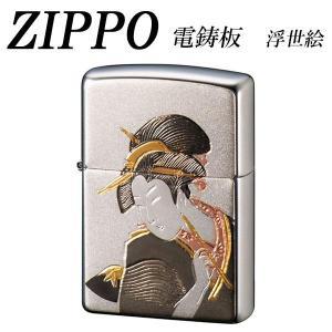 全国送料無料|ZIPPO 電鋳板 浮世絵|b03|panfamcom